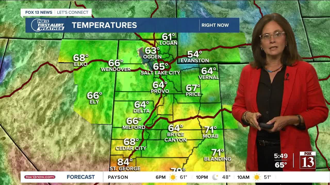 Monday night weather forecast (Sept. 20) -- Autumn is coming