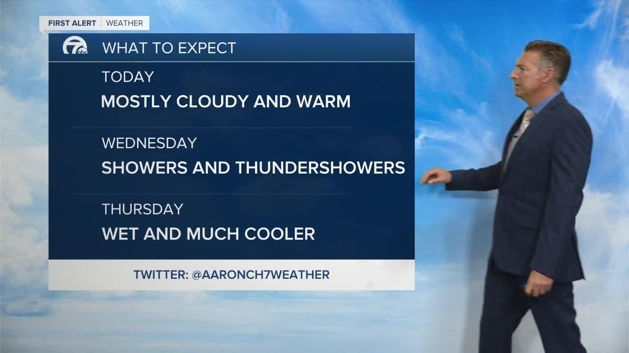 7 First Alert Forecast 5am Update, Tuesday, September 21