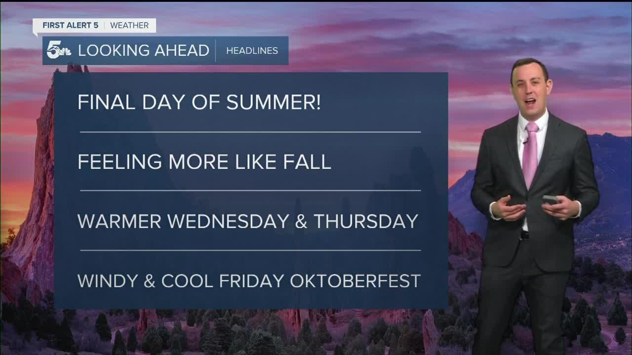 Feeling like Fall on the last day of Summer!