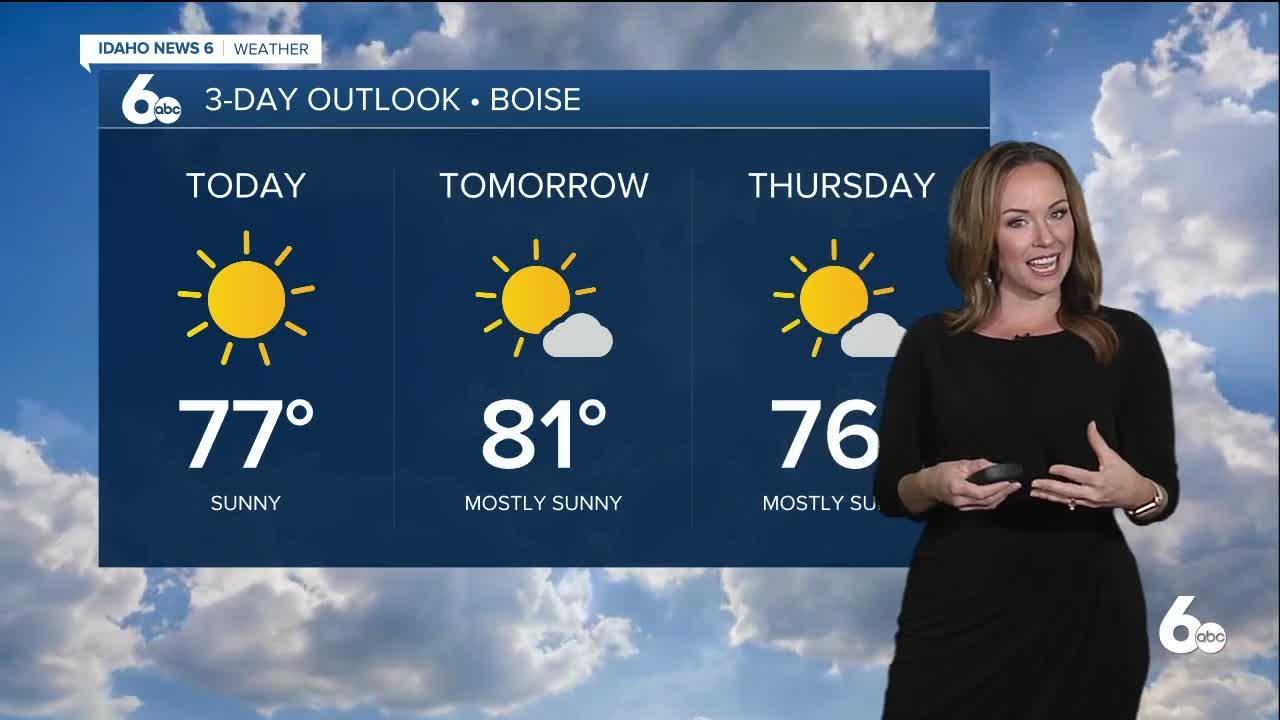 Rachel Garceau's Idaho News 6 forecast 9/21/21