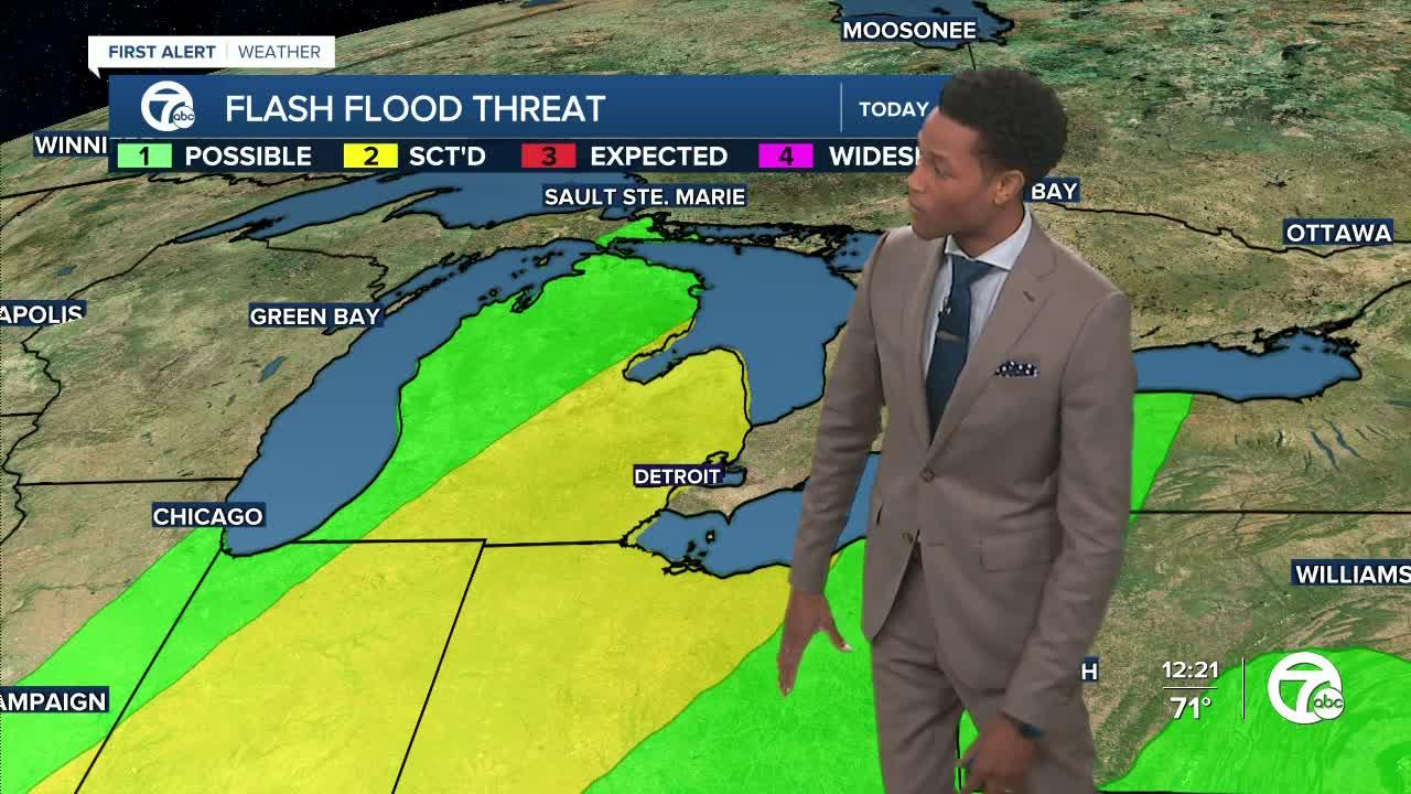 Flood Watch in effect through Thursday