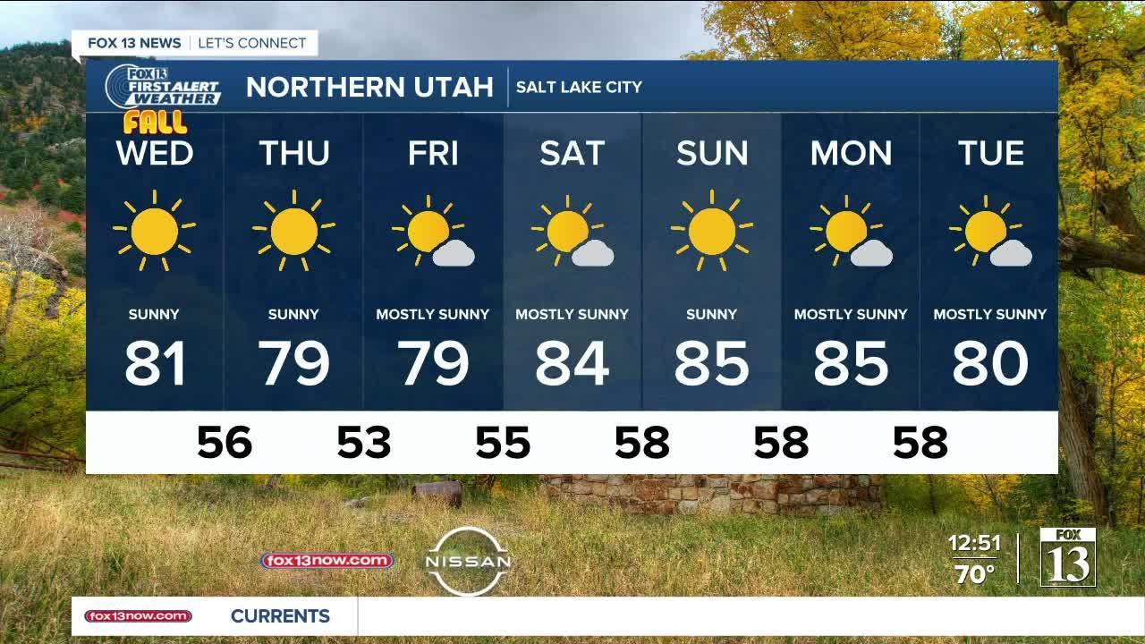 Smoke returns with warmer temps - September 22