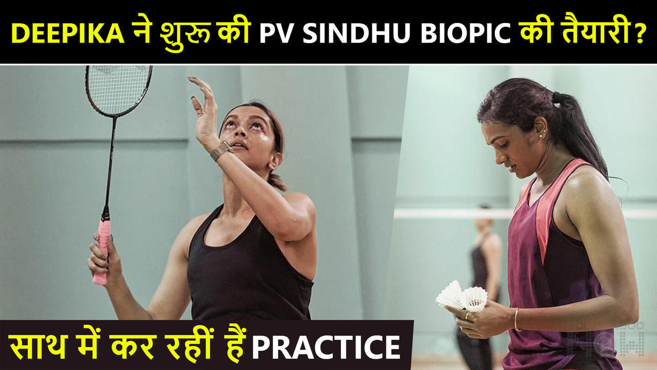 Deepika Padukone Doing A Biopic On PV Sindhu? Pics From Their Badminton Session Excite Fans
