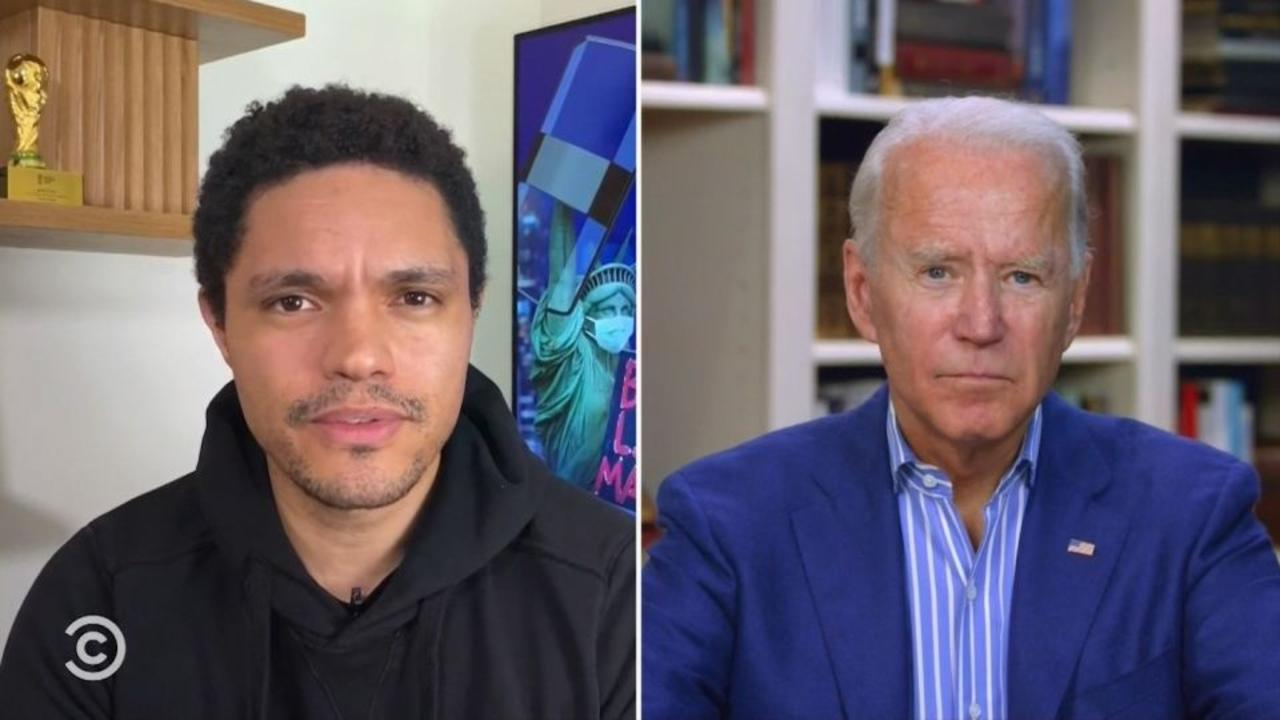 Biden says if he wins Trump will have to be escorted out