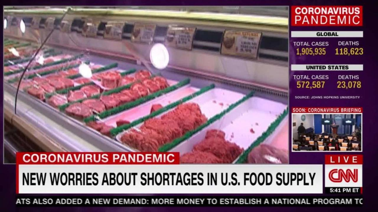 US food supply: in jeopardy?