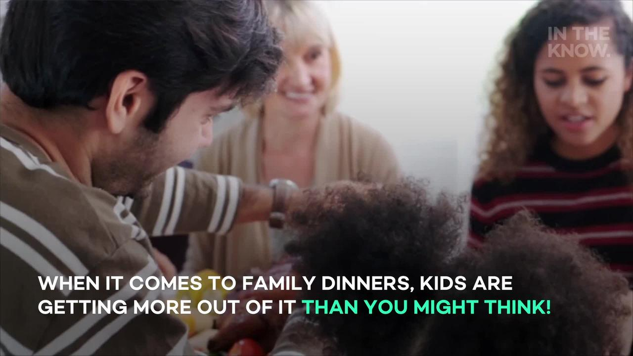 National Family Day: How eating together as a family can benefit kids their entire lives