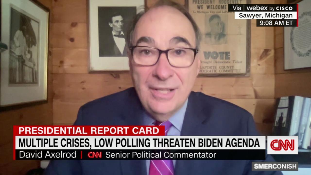 Multiple crises, low polling numbers threaten Biden agenda