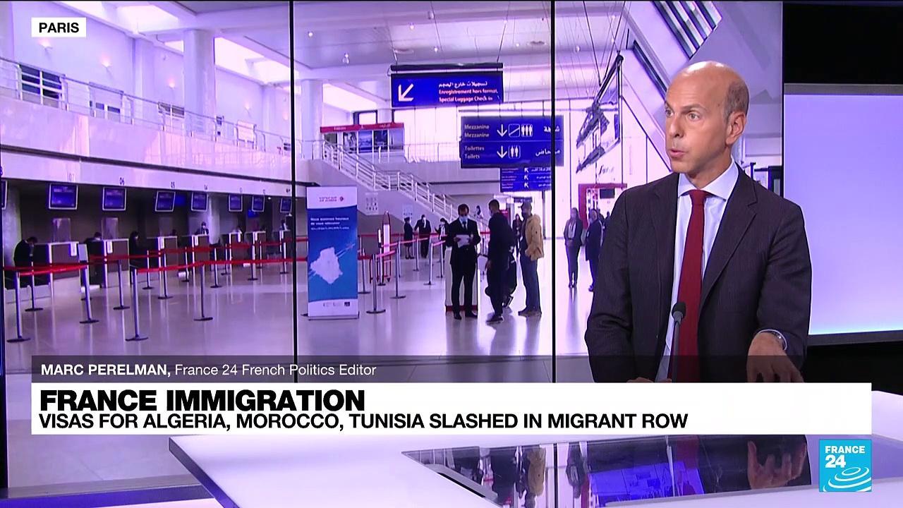 France slashes visas for Algeria, Morocco, Tunisia in migrant row