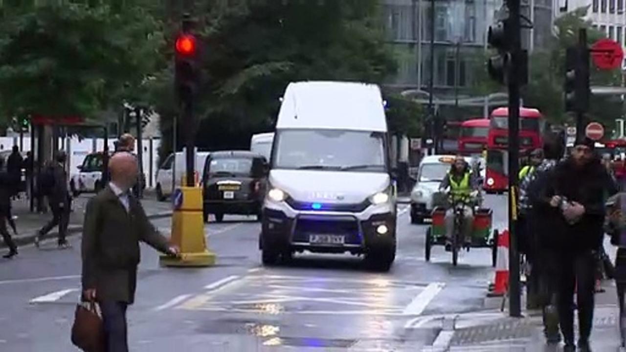 Wayne Couzens arrives at Old Bailey for sentencing