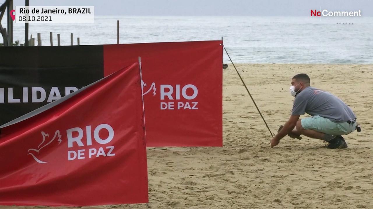 Brazil event commemorates 600,000 COVID victims