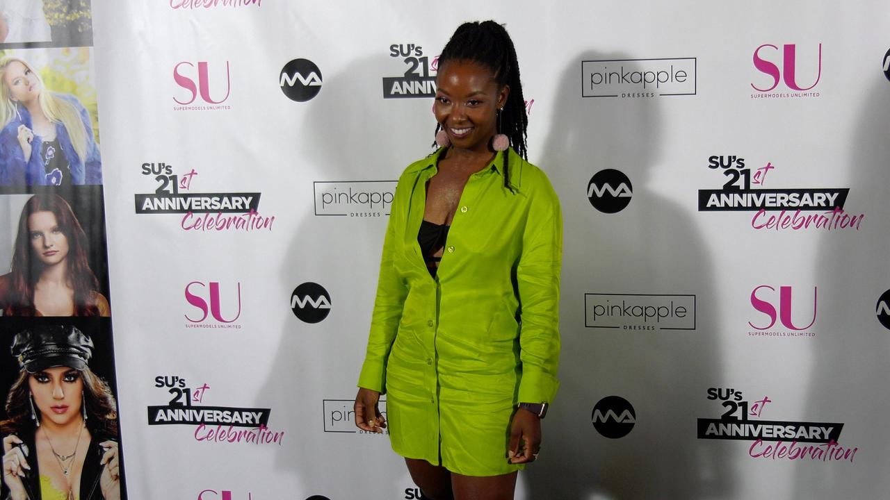 Aisha Holden 'SU Magazine's 21st Anniversary Celebration' Red Carpet Fashion