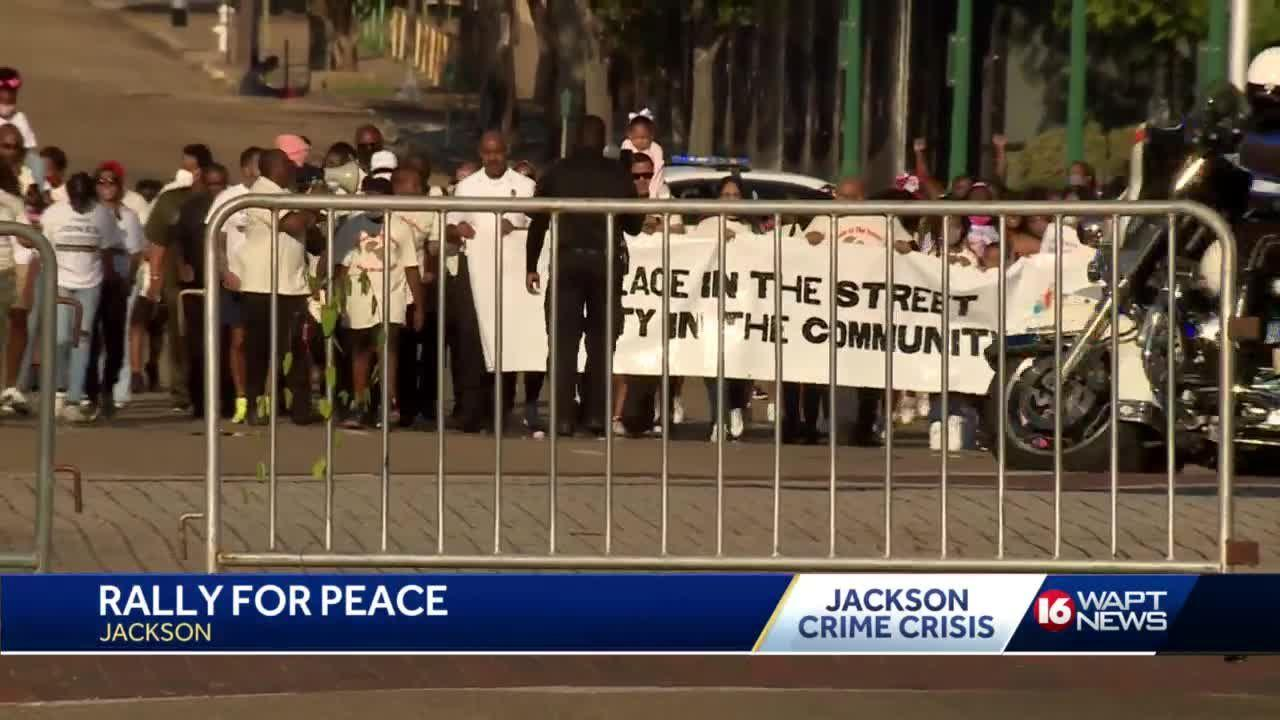 Peace in the Streets Rally