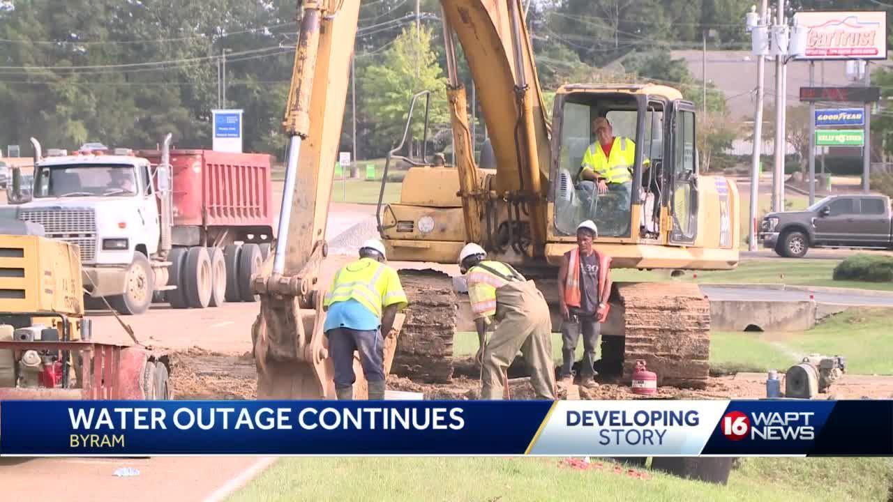 Byram Water Outage