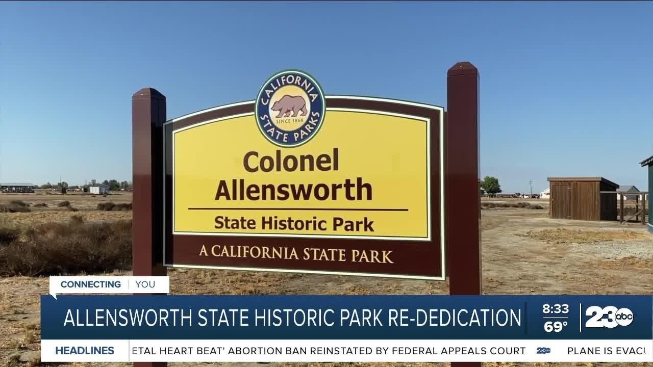 Allensworth Re-Dedication Event in celebration of African American history