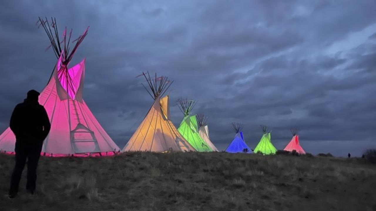 Indigenous People's Day recognized with teepee display