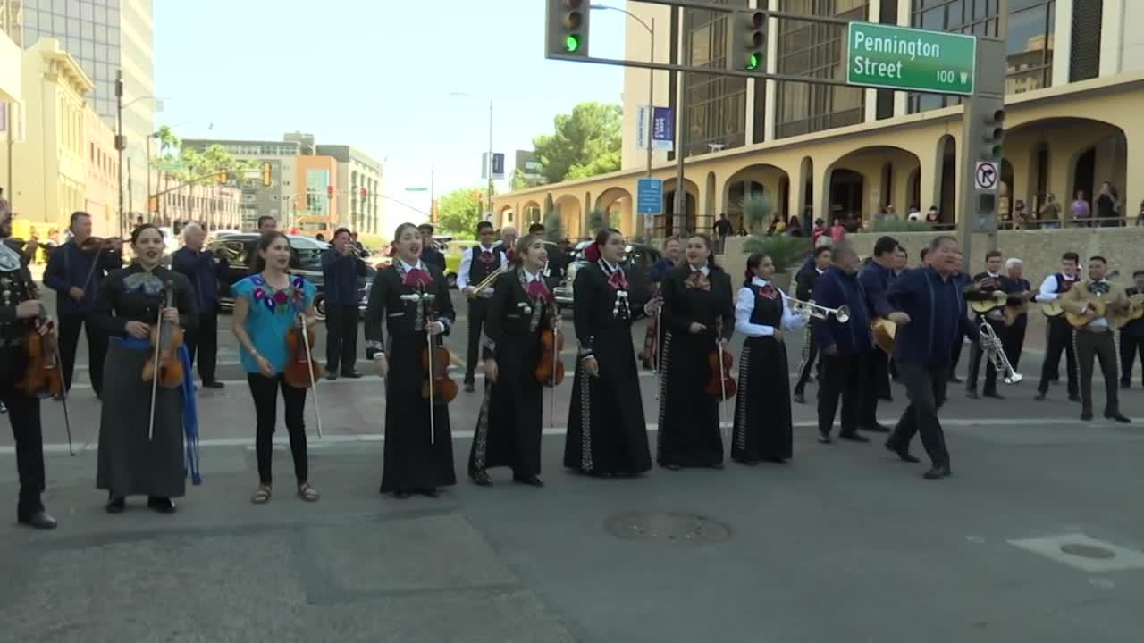 Multiple generations of legendary mariachi group perform at Tucson Meet Yourself
