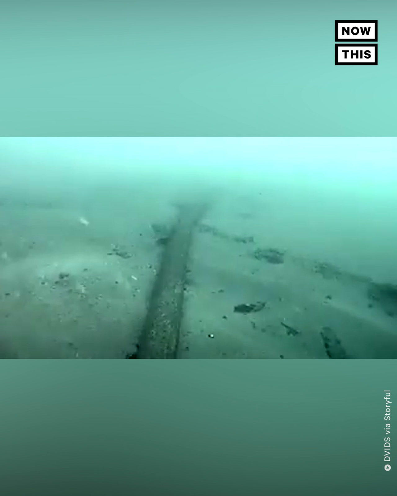 Underwater Footage Shows Fractured Oil Pipeline Off California Coast