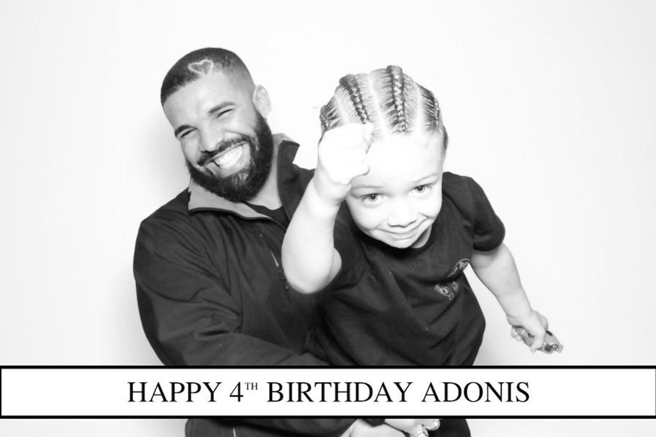 Drake Shares Photos of Son Adonis' 4th Birthday