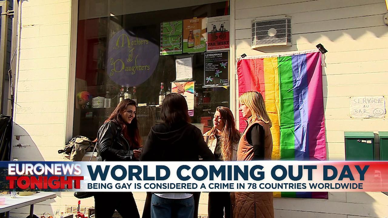World Coming Out Day: 'You can tell no-one... they can even kill you'