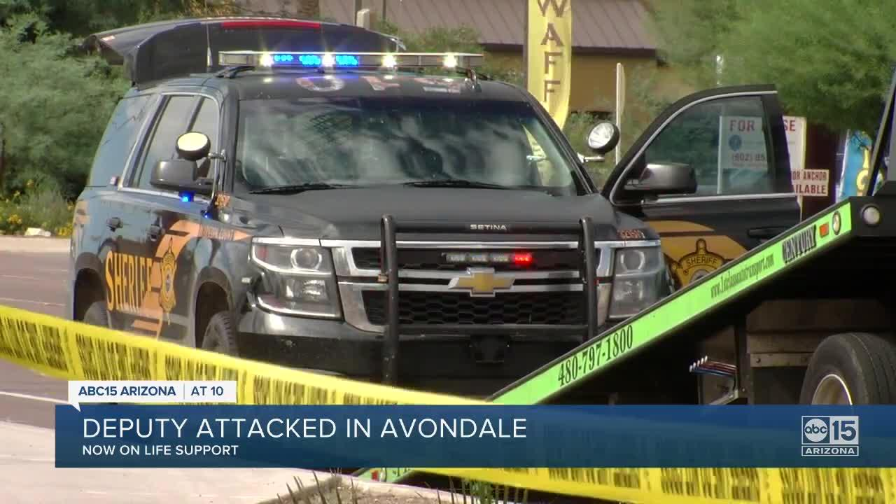 MCSO deputy attacked in Avondale