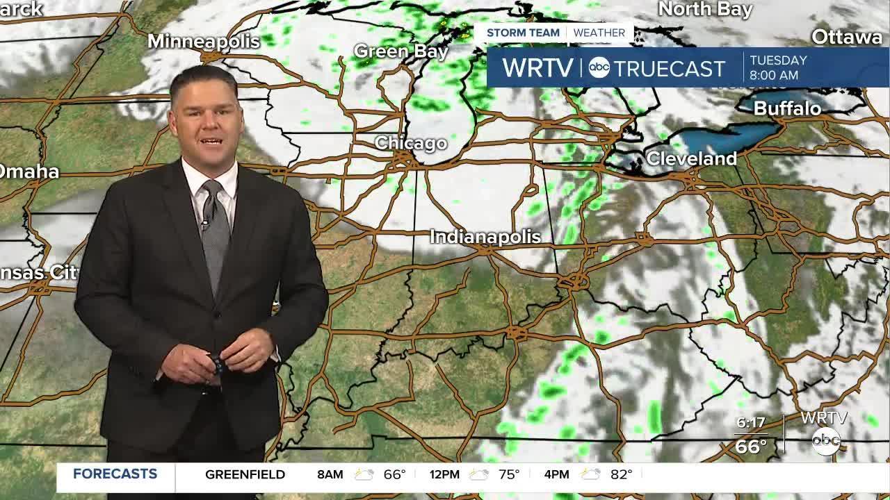 WRTV StormTeam Forecast: Monday, Oct. 11, 2021