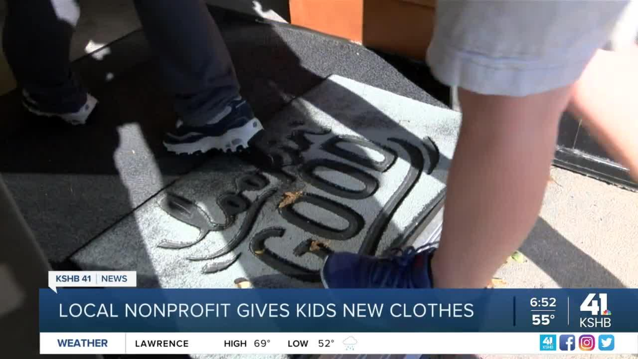 Local nonprofit gives kids new clothes