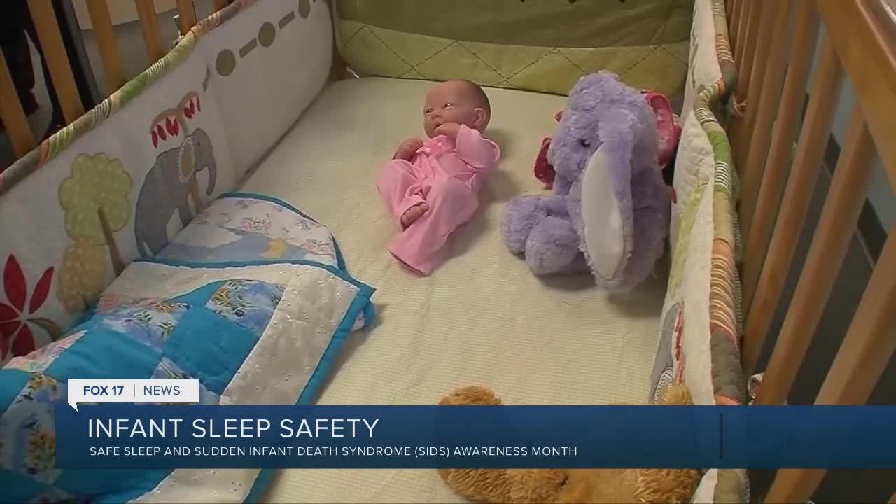 Make infant sleep safety a priority during awareness month
