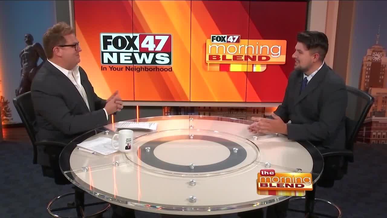 FOX 47 News Joe Gebhardt - 10/11/21