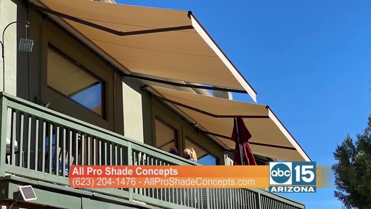 All Pro Shade Concepts creates custom shade for any size patio