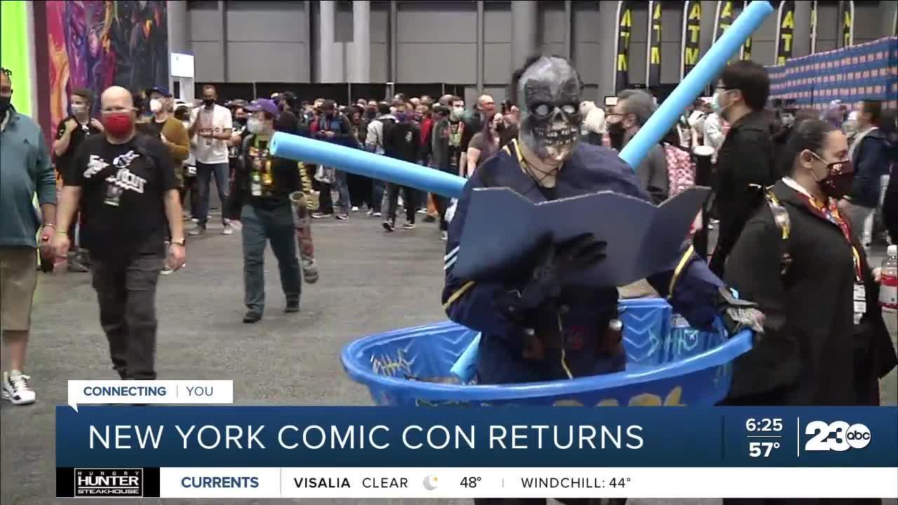 New York Comic Con returns