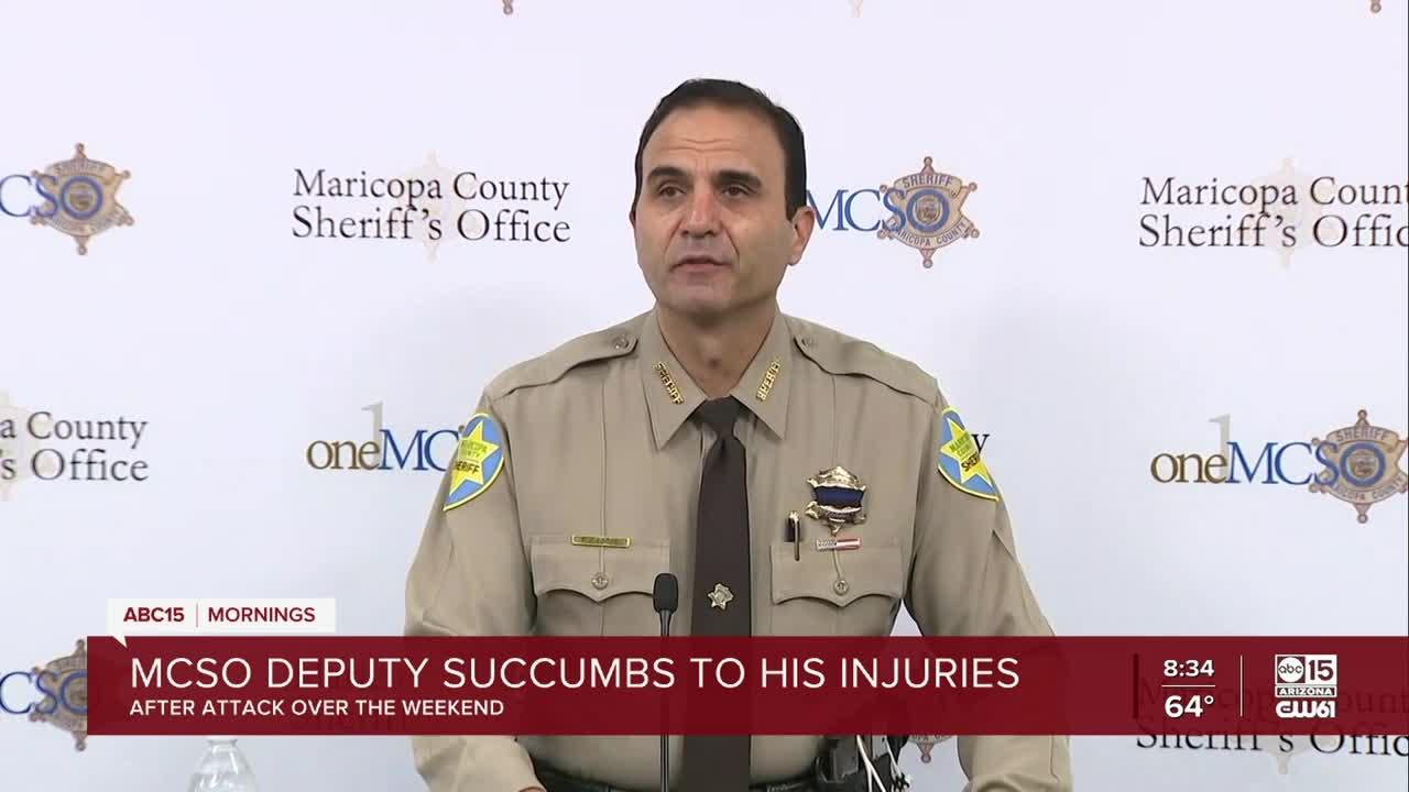 MCSO deputy dies after attack by in-custody suspect