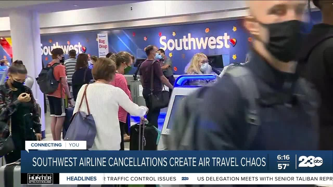 Southwest Airline cancelations create air travel chaos