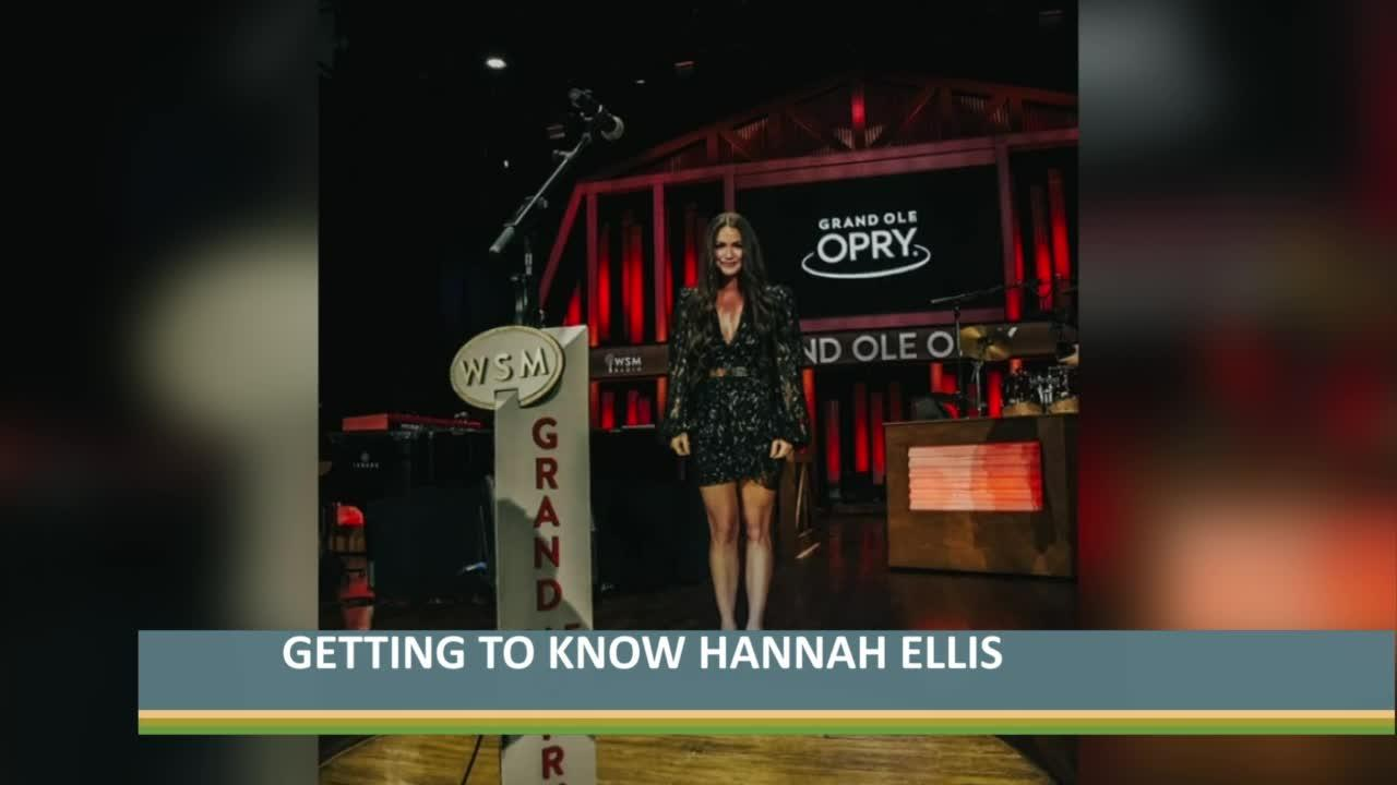Getting to know Campbellsville native and country music artist Hannah Ellis