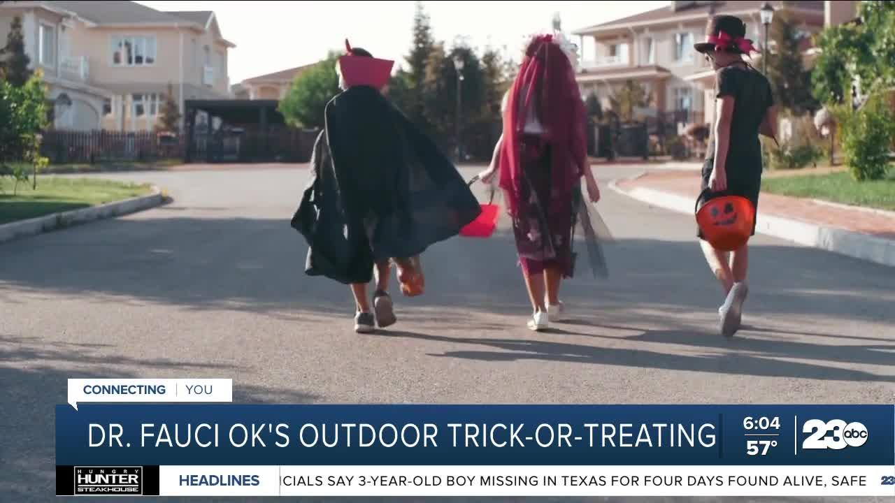 Dr. Anthony Fauci: Families should feel safe trick-or-treating outdoors