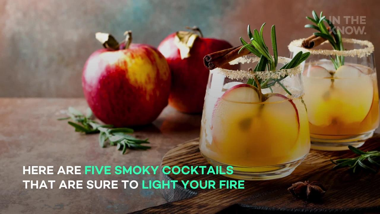 Smoky cocktails that are sure to light your fire