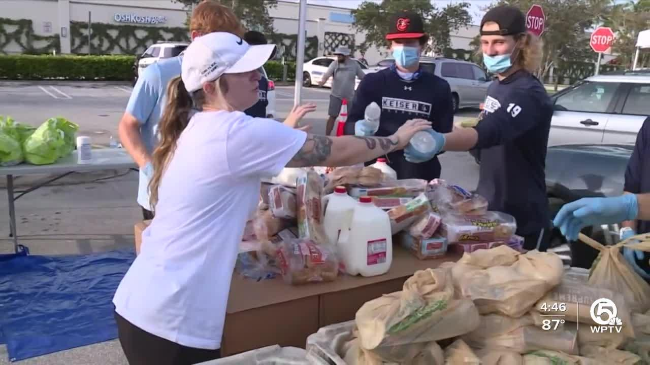 Food distribution event scheduled Friday at Palm Beach Outlets