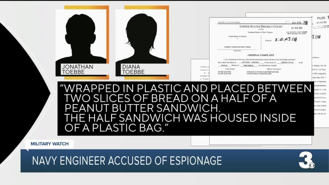 Navy engineer accused of espionage