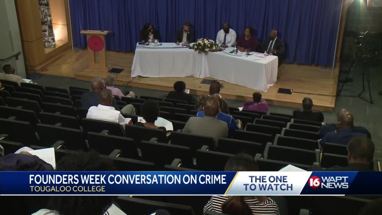 Tougaloo College Discusses Crime