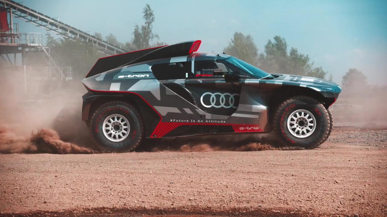 Audi RS Q e-tron@Dakar
