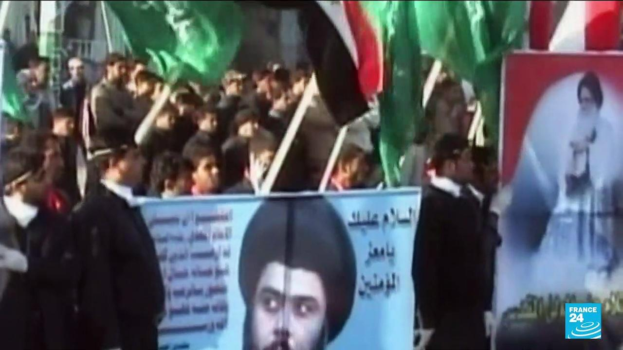 Shiite cleric al-Sadr comes first in Iraq election