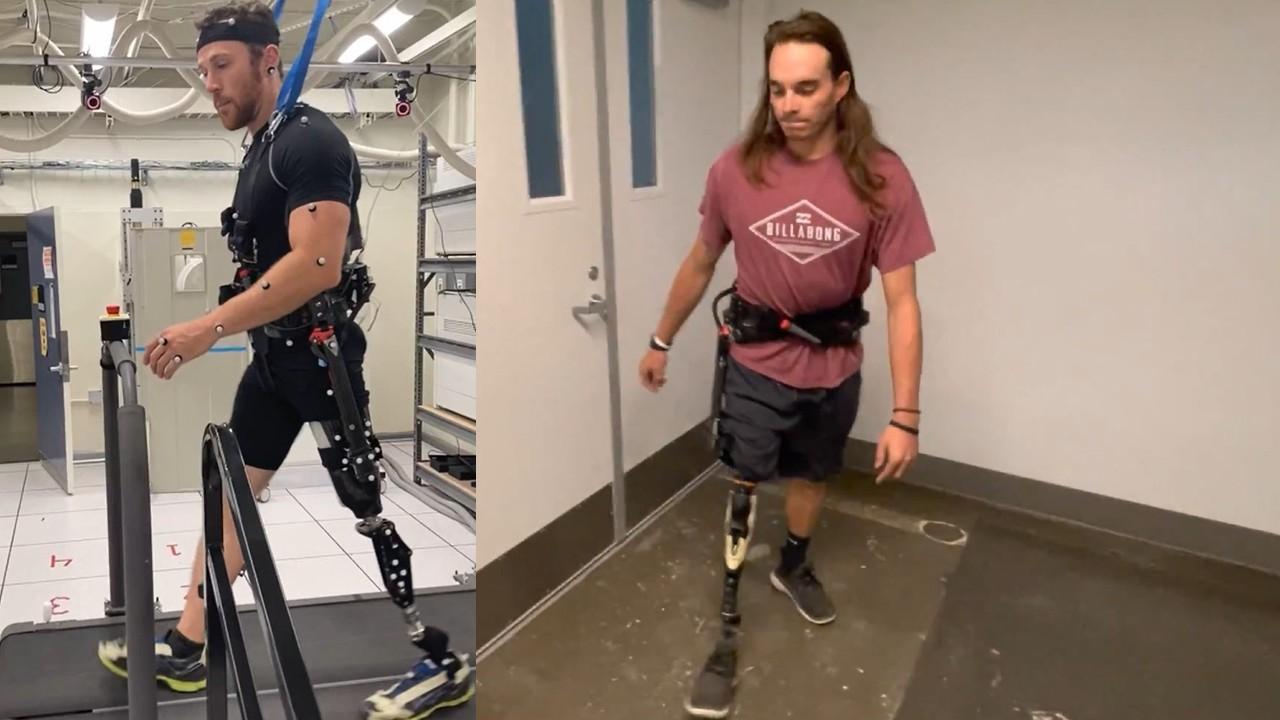 U of U exoskeleton helping amputees walk further, longer, with less pain