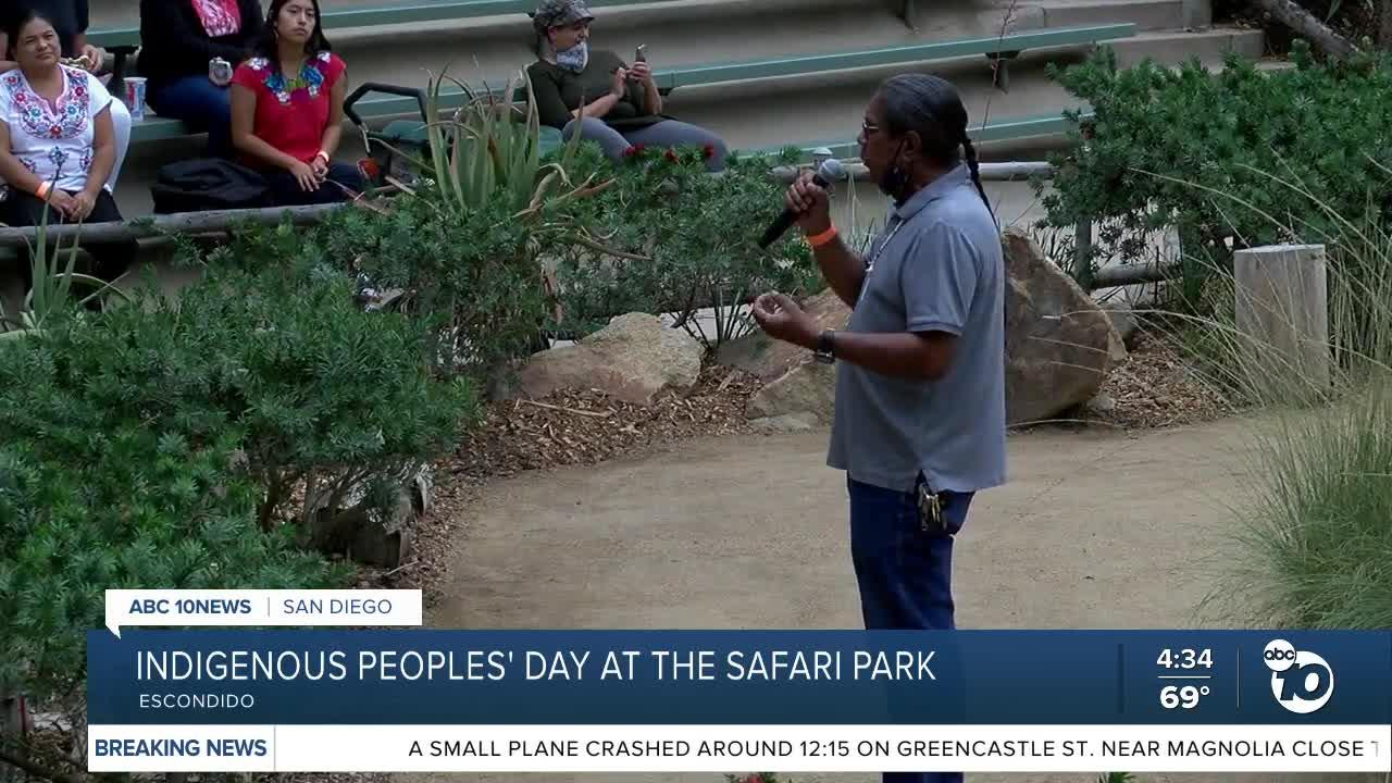 Indigenous Peoples' Day at the San Diego Zoo Safari Park