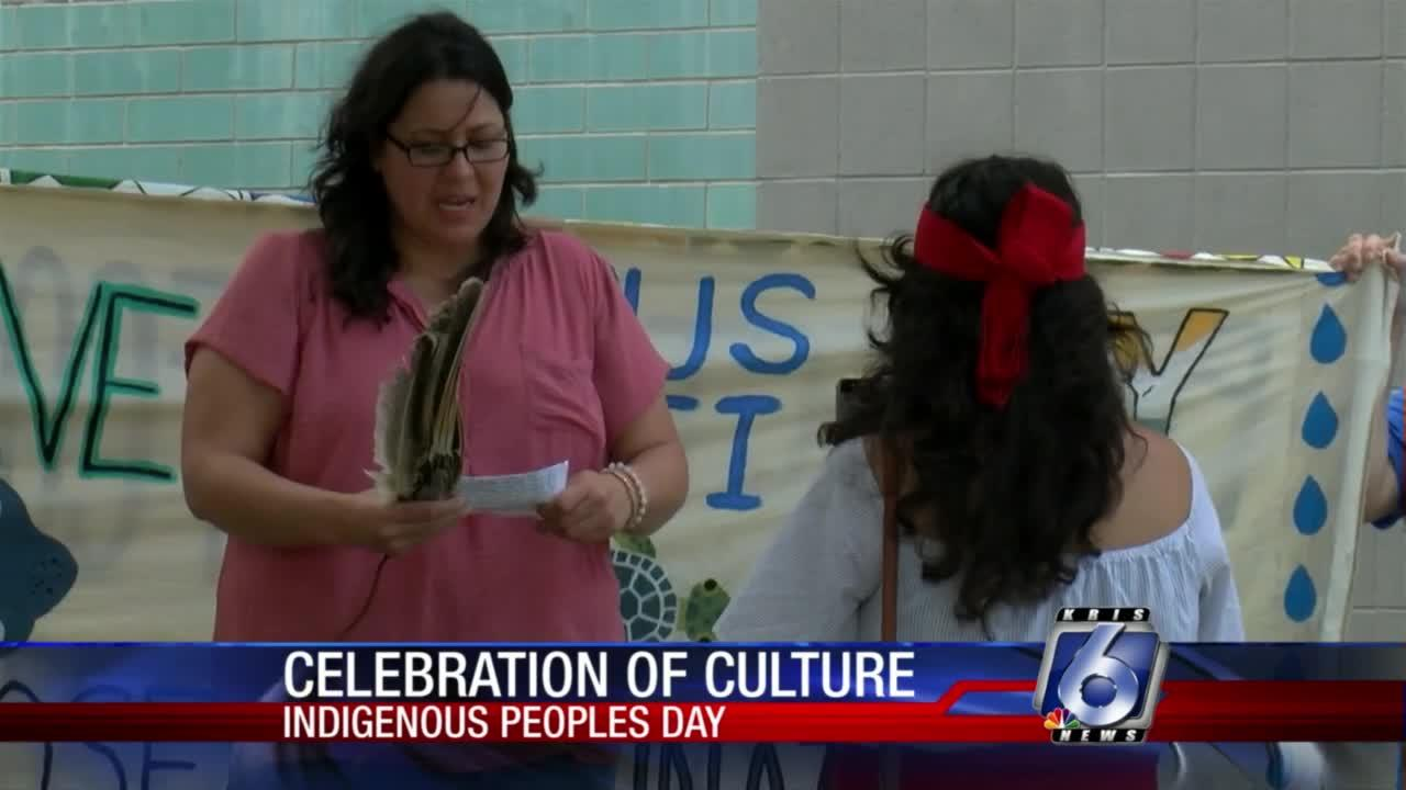Indigenous Peoples of the Coastal Bend honor their holiday at city hall