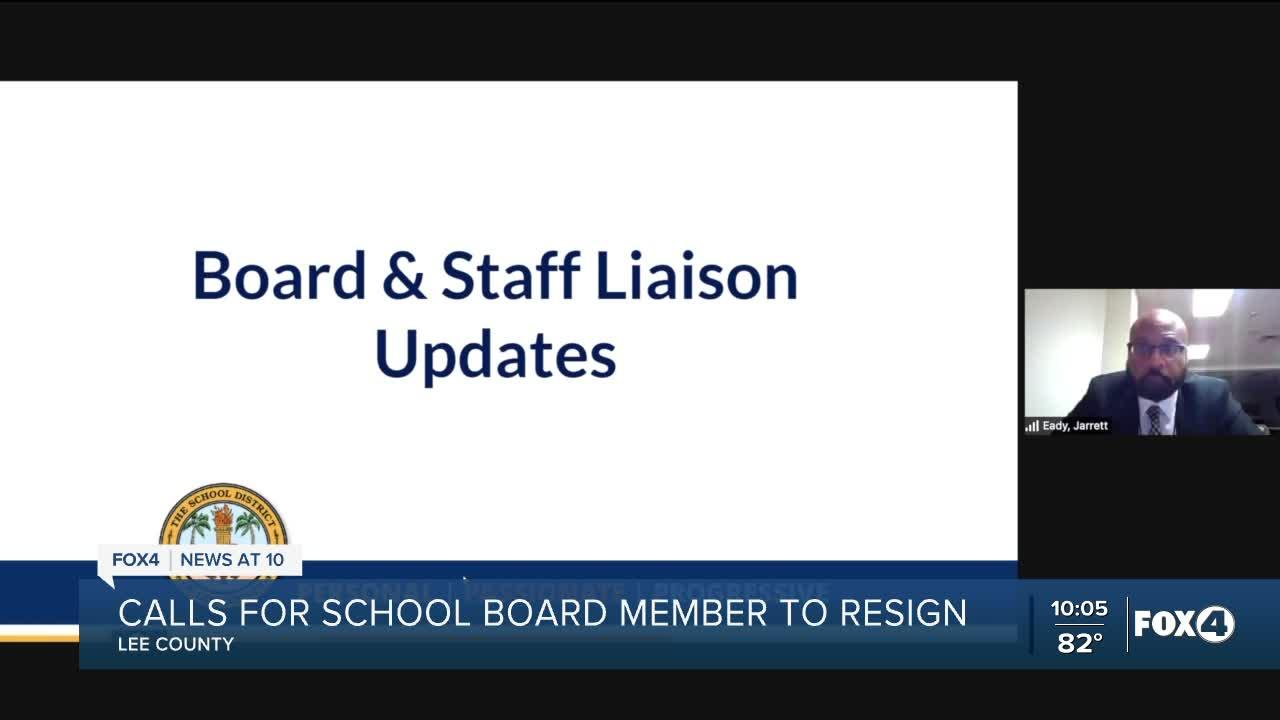 Lee County EDAC calls for School Board member Chris Patricca to consider resigning