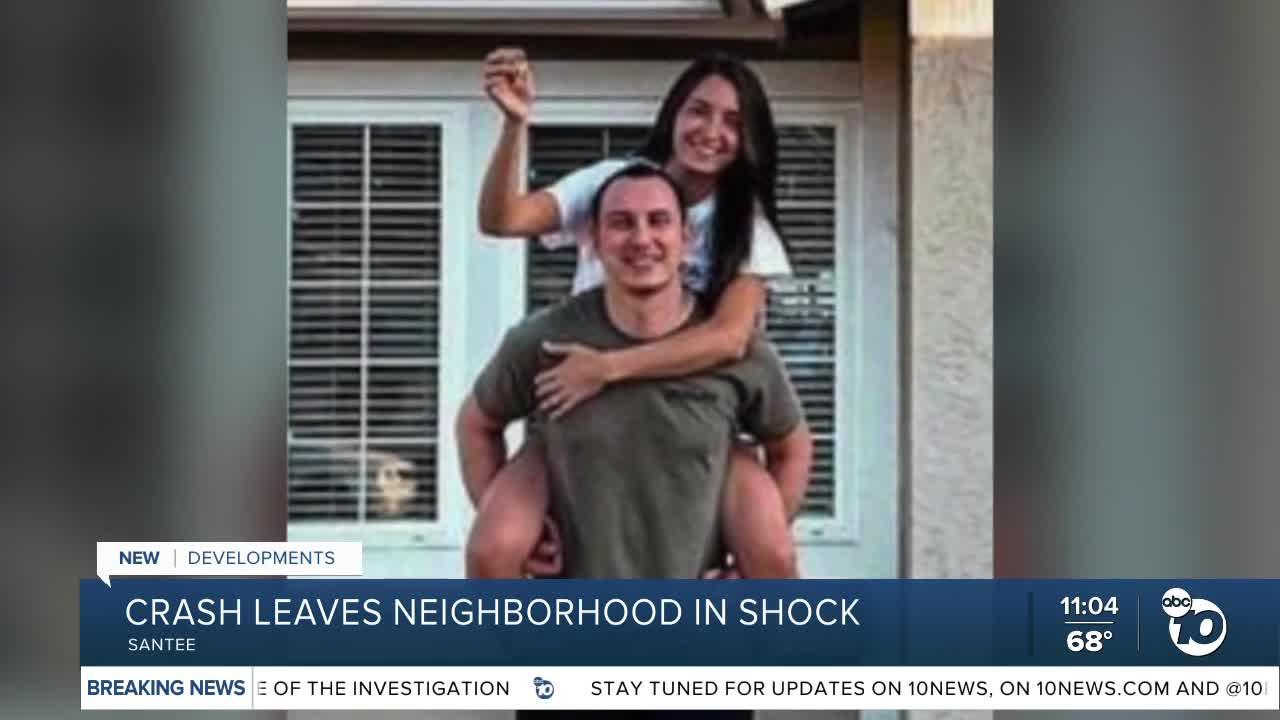 Newlyweds lose home in Santee plane crash, neighbors remember UPS driver