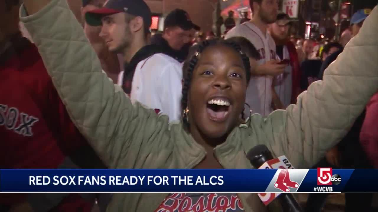 Red Sox fans ready for ALCS