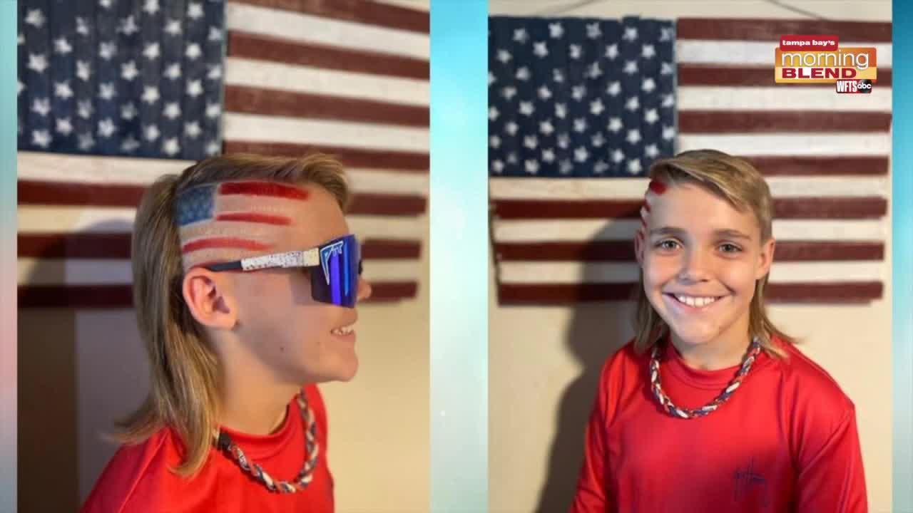 Local Student in National Mullet Contest   Morning Blend