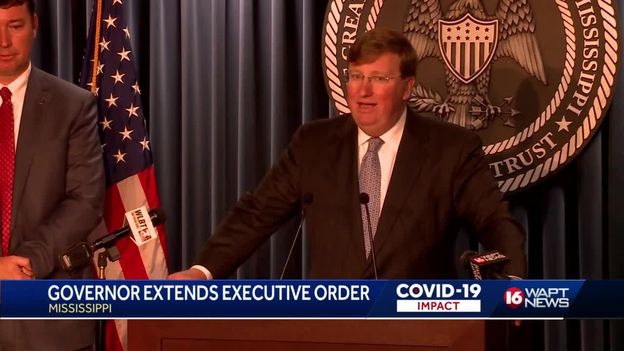 Governor extends COVID-19 order