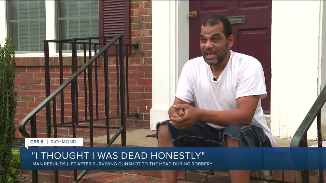 Richmond man survives gunshot to head: 'I was a goner'
