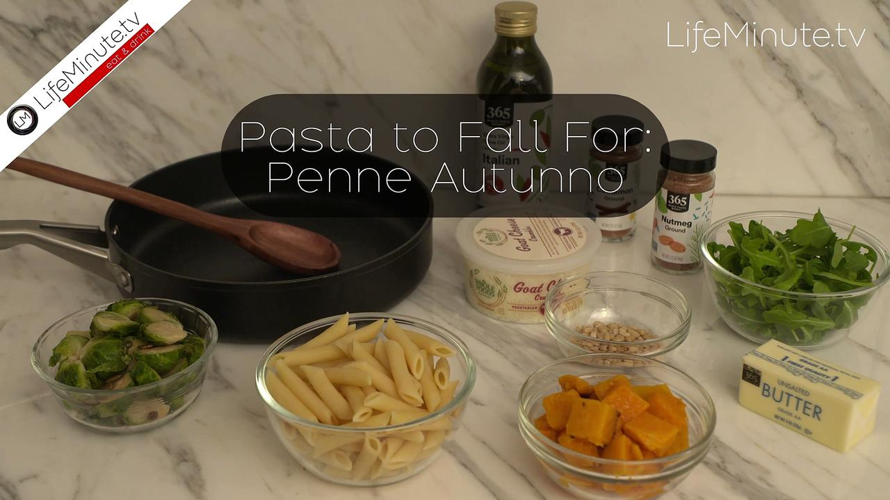 Pasta to Fall For: Penne Autunno